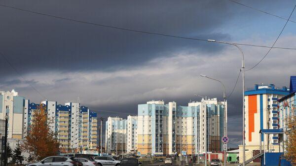 Современная жилая застройка в Салехарде