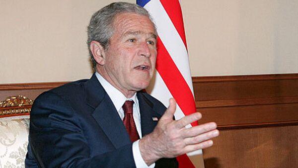 Посмотреть на то, что отойдет после Джорджа Буша Америке – так жалко всех