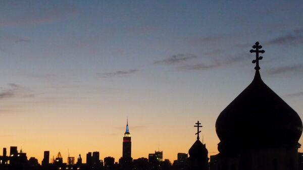 Православная церковь в Нью-Йорке. Архивное фото