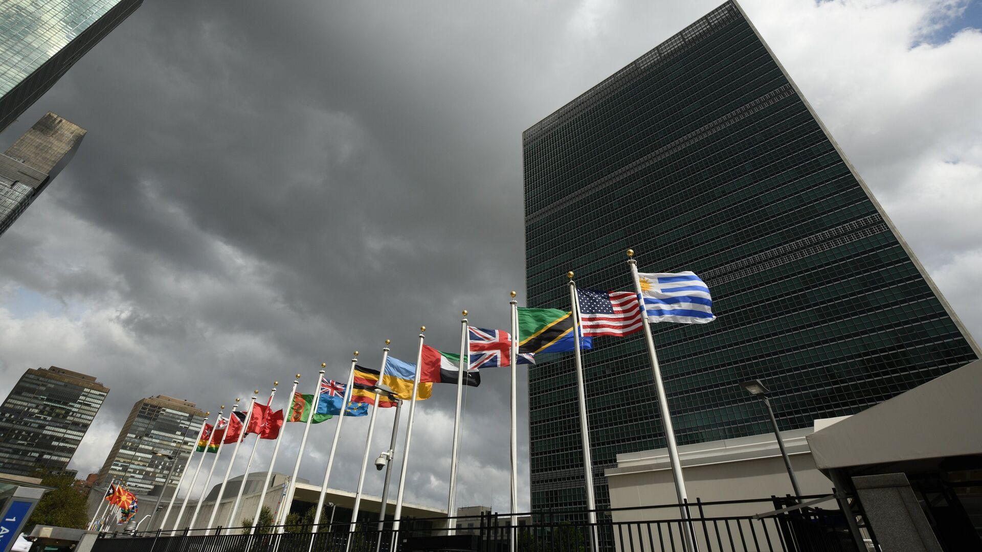 Штаб-квартира Организации Объединенных Наций - РИА Новости, 1920, 13.11.2020