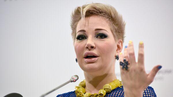 Оперная певица Мария Максакова