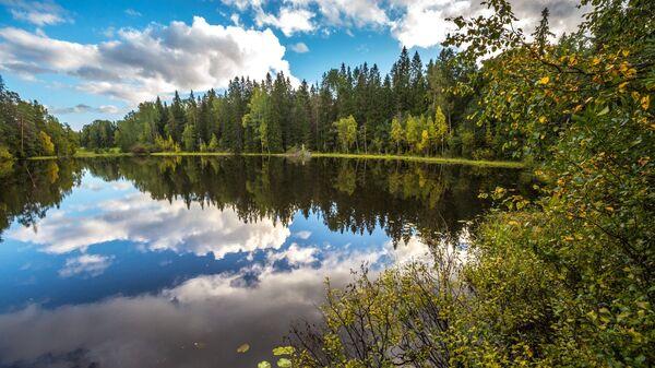 Никоновское озеро рядом с Гефсиманским скитом