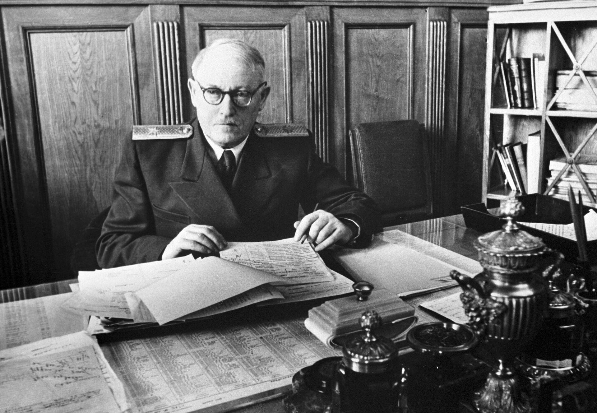 Андрей Вышинский - министр иностранных дел СССР в 1949—1953 гг - РИА Новости, 1920, 08.02.2021