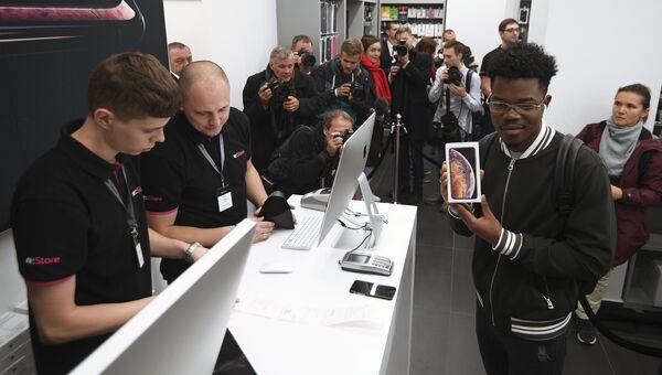 Старт продаж в России iPhone XS и XS Max  в Москве