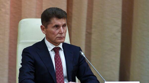 Временно исполняющий обязанности губернатора Приморского края Олег Кожемяко