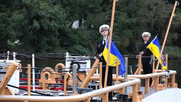 Передача Украине катеров береговой охраны класса Island в Балтиморе