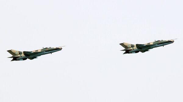 Истребители F-7NI ВВС Нигерии