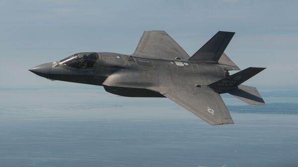 Американский истребитель F-35B
