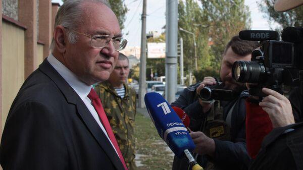 Председатель Коммунистической партии ДНР Борис Литвинов