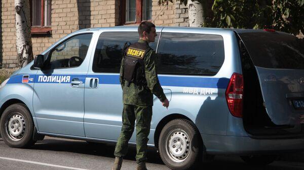 Полиция в Донецке