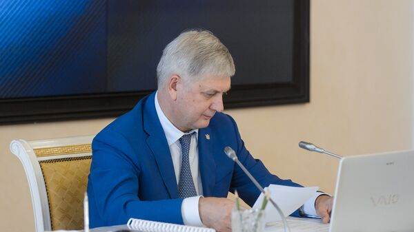 Глава Воронежской области Александр Гусев