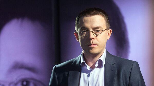 Львовский журналист и писатель Остап Дроздов