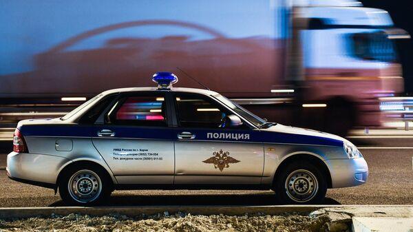 Машина полиции в Крыму. Архивное фото