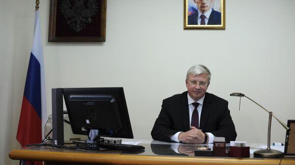 Посол России в Македонии Сергей Баздникин