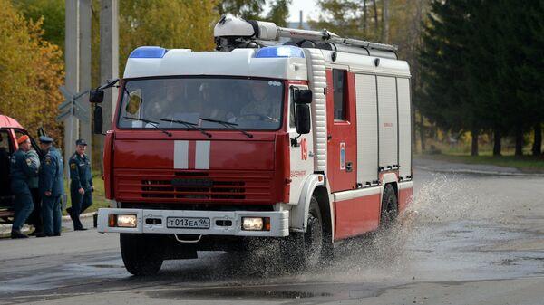 Автомобиль пожарной охраны. Архивное фото