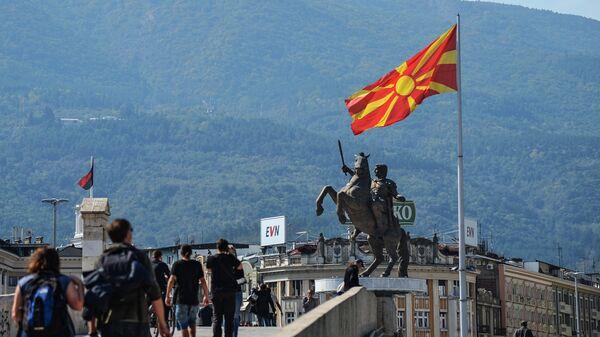 Скопье. Архивное фото