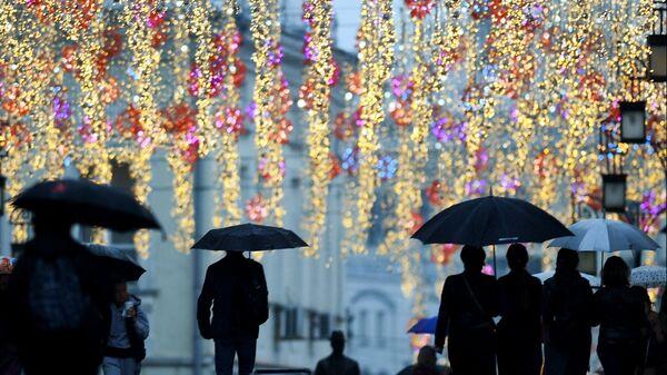 Погода в Москве. Архивное фото
