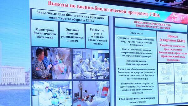 Брифинг Министерства обороны РФ по биооружию. 4 октября 2018