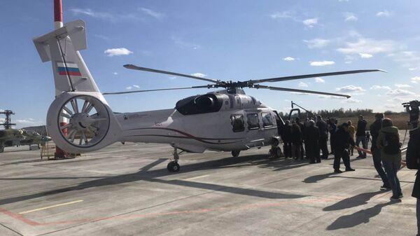 Экспериментальный гражданский вертолет Ка-62