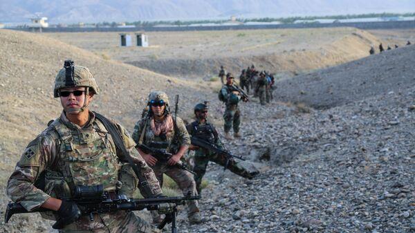 Военнослужащие армии США в Афганистане. Архивное фото