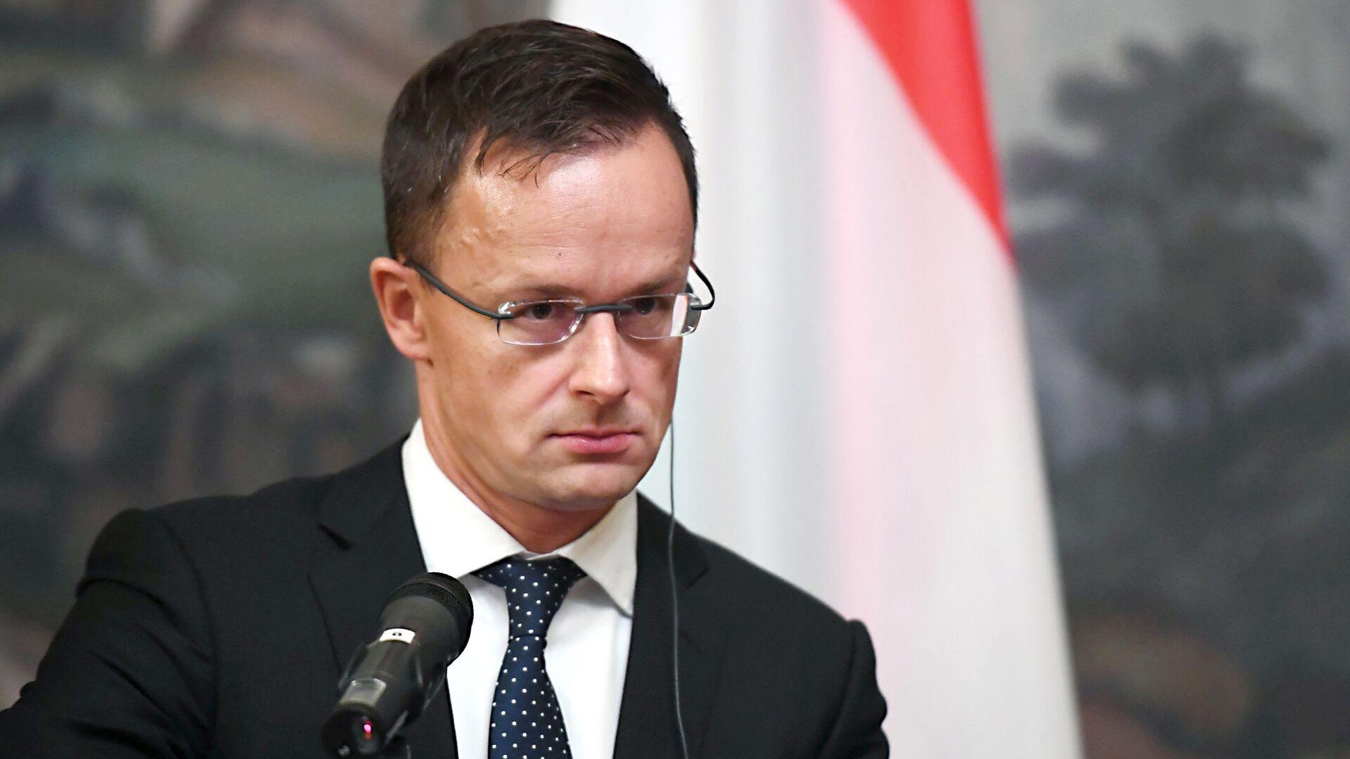 Глава МИД Венгрии Петер Сийярто - РИА Новости, 1920, 27.09.2021