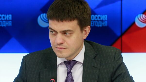 Министр науки и высшего образования России Михаил Котюков на пресс-конференции в МИА Россия сегодня. 10 октября 2018