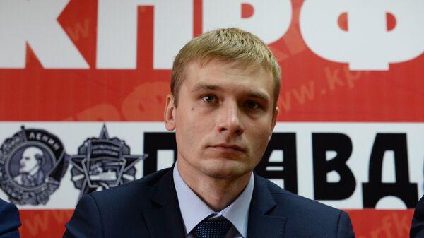 Кандидат на пост главы республики Хакасия Валентин Коновалов