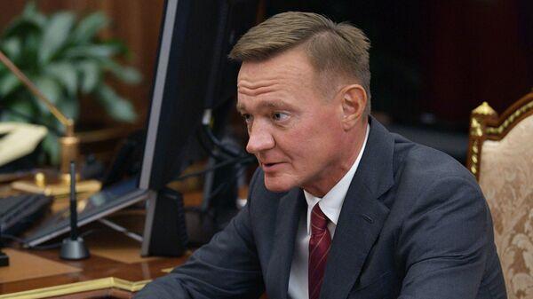 Временно исполняющий обязанности губернатора Курской области Роман Старовойт. 11 октября 2018
