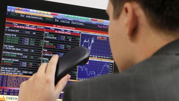 Сотрудник Московской межбанковской валютной биржи