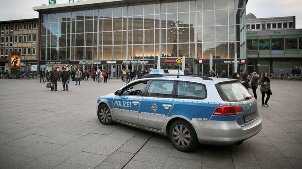 Полицейский автомобиль в Кельне