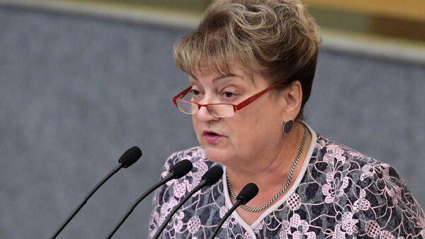 Член комитет ГД по транспорту и строительству Ольга Алимова