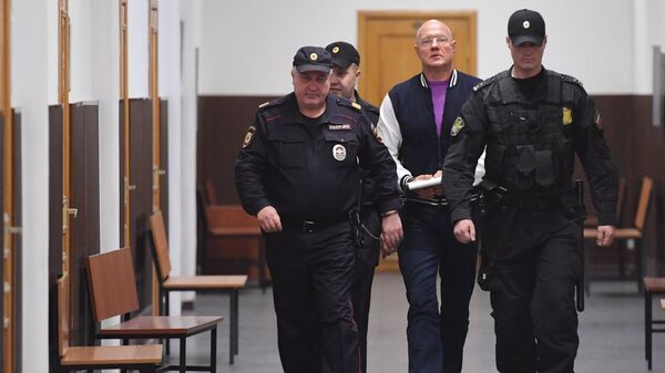 Бывший вице-премьер Крыма Виталий Нахлупин в суде
