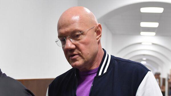 Бывший заместитель председателя Совета министров Республики Крым Виталий Нахлупин в суде
