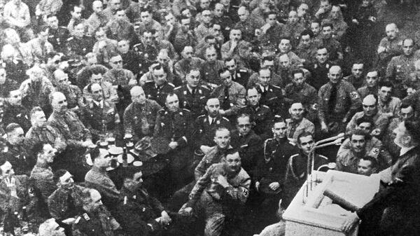 Выступление на офицерском собрание фюрера Адольфа Гитлера
