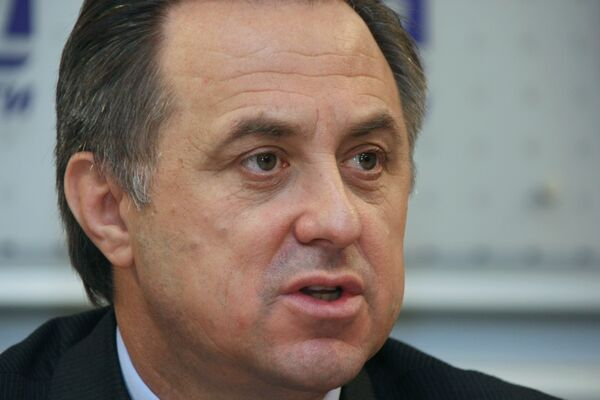 Президент Российского футбольного союза Виталий Мутко