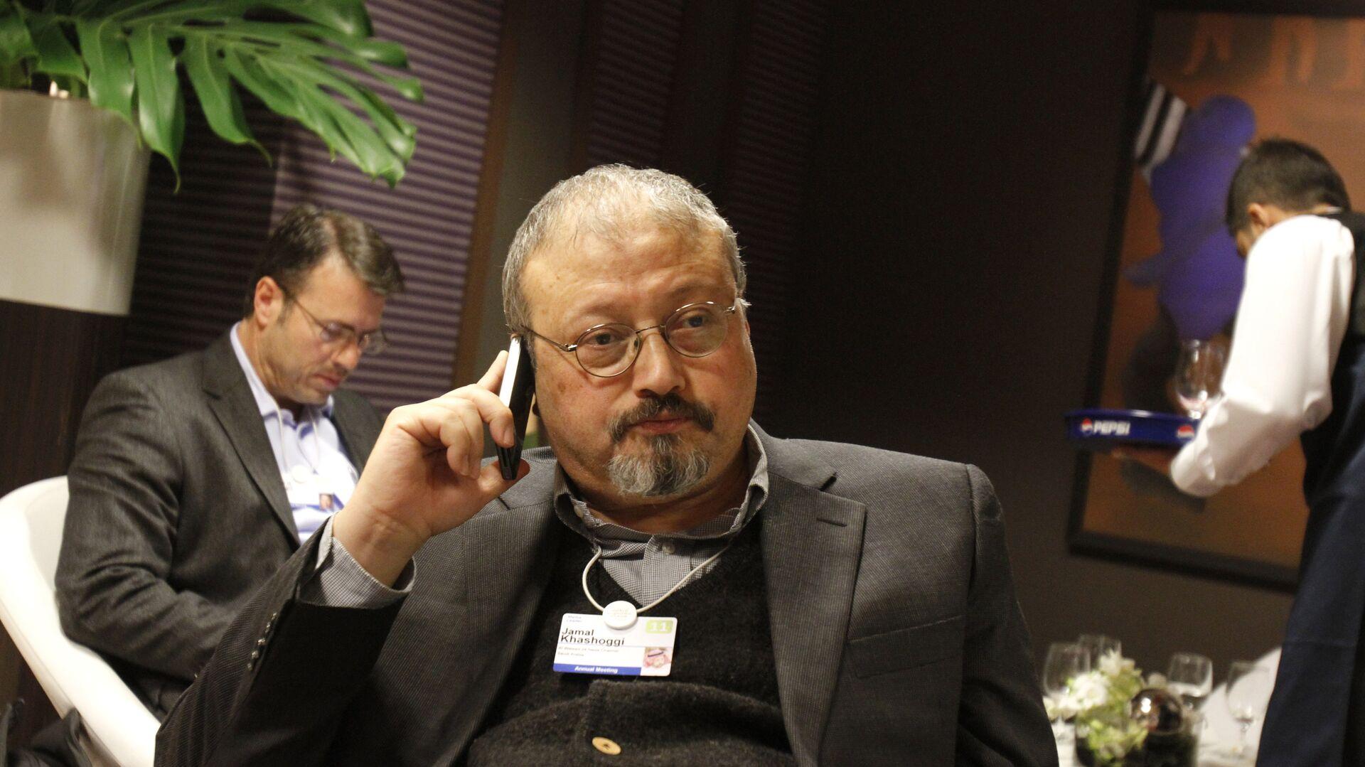 Саудовский журналист Джамаль Хашукджи  - РИА Новости, 1920, 17.12.2018