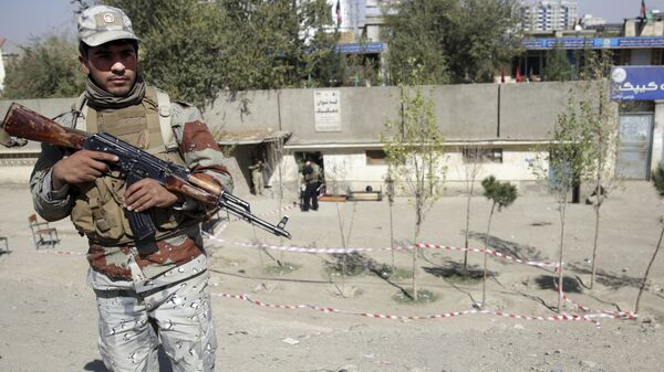 Полицейский в Кабуле
