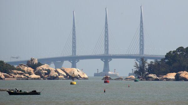 Мост между городами Гонконг, Макао и Чжухай. Архивное фото