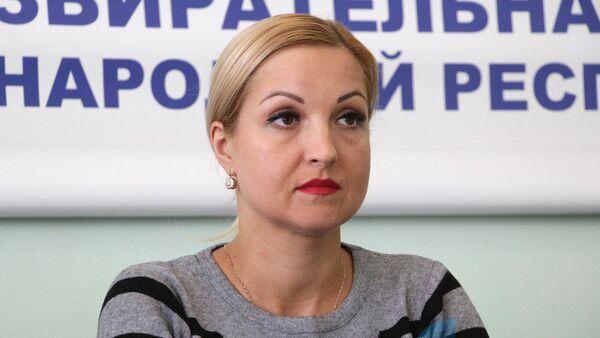 Глава ЦИК ЛНР Елена Кравченко