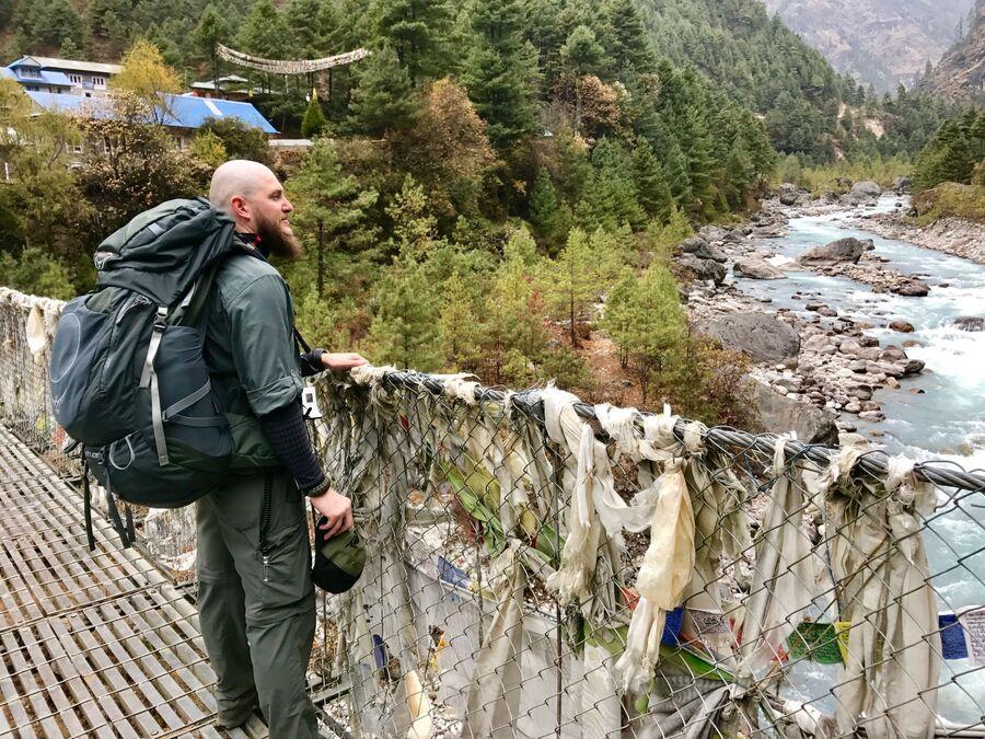 Восхождение к базовому лагерю Эвереста. Ноябрь 2017