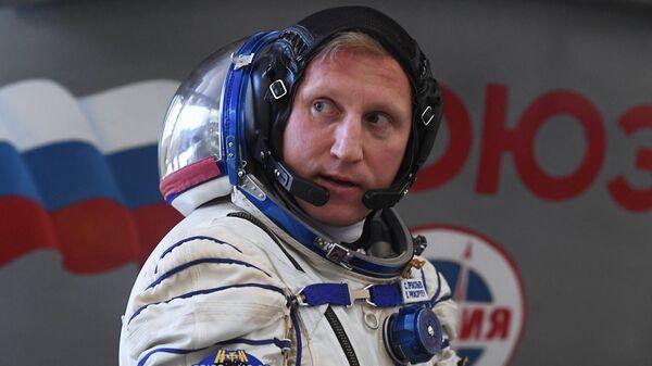 Космонавт Роскосмоса Сергей Прокопьев