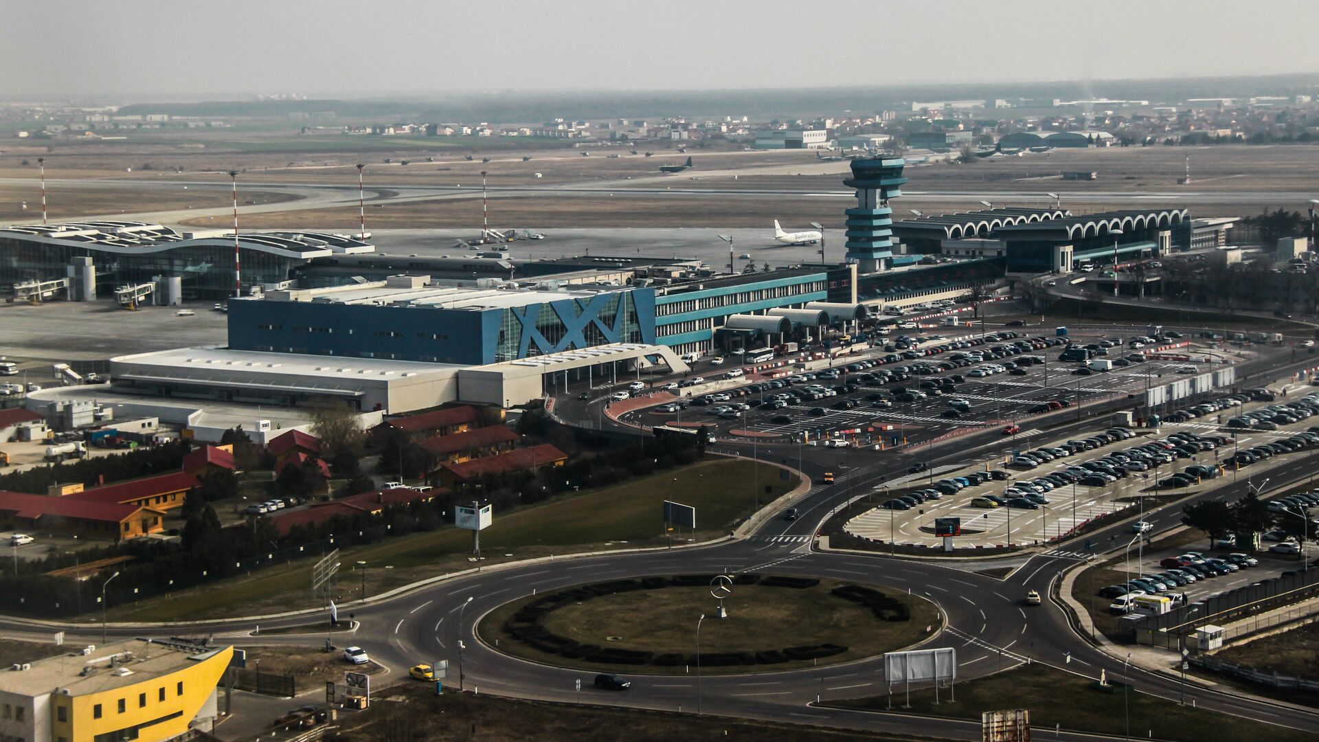 Международный аэропорт имени Анри Коанды в Бухаресте - РИА Новости, 1920, 20.08.2020