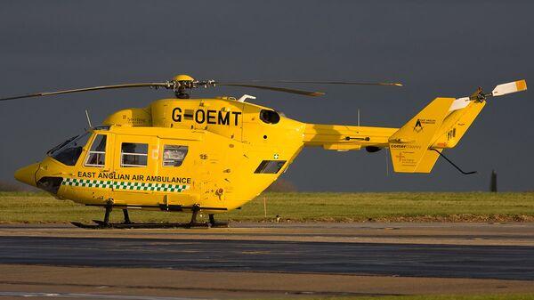 Вертолет медицинской службы Великобритании