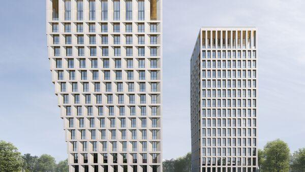 Проект элитного жилого комплекса White Khamovniki