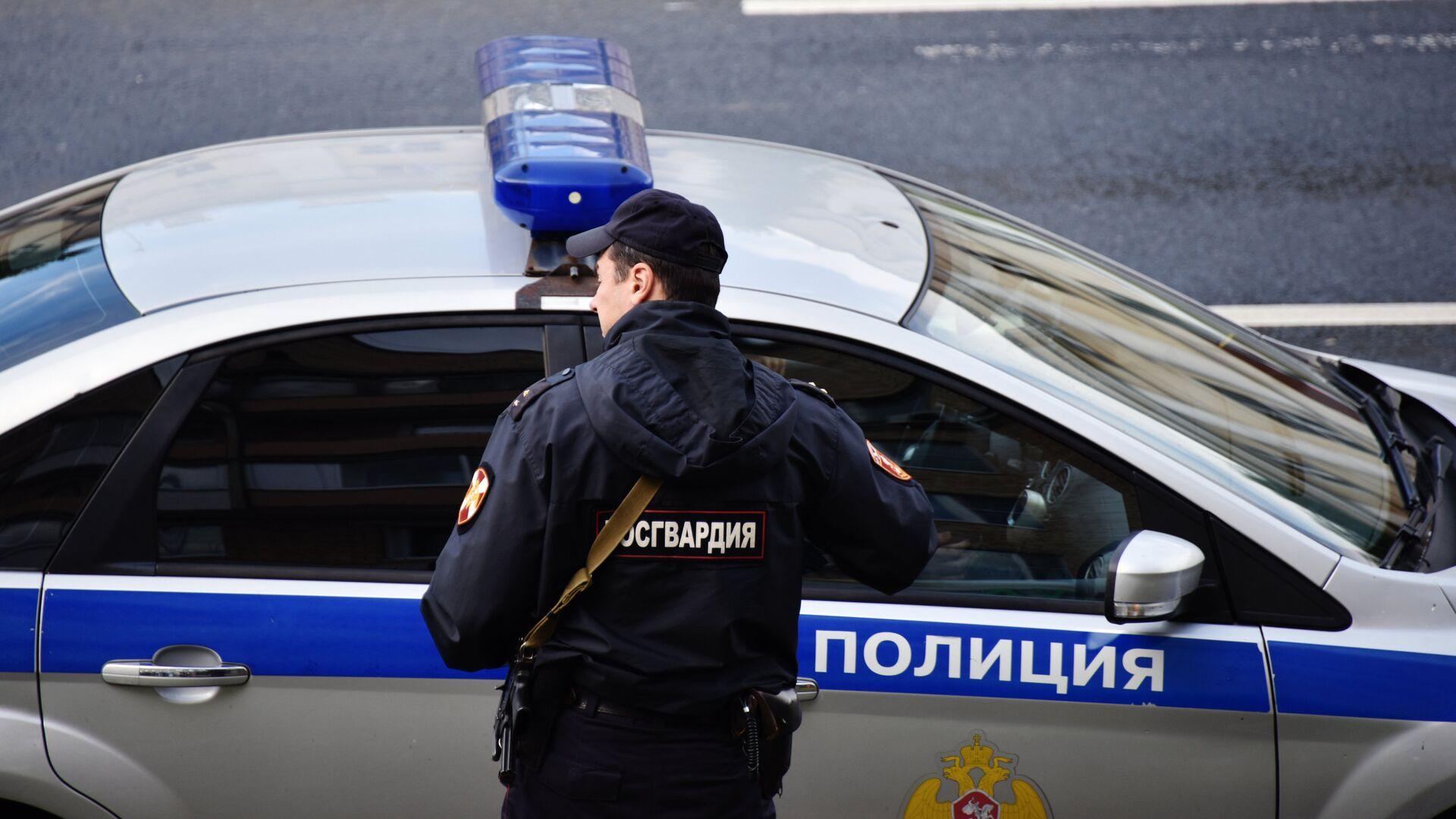 Автомобиль полиции - РИА Новости, 1920, 16.09.2020