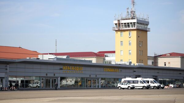 Здание аэропорта Краснодар