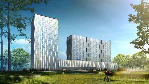 Проект гостиницы Novotel на Ленинградском шоссе в Москве