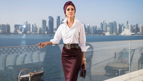 Российская певица Зара в Катаре