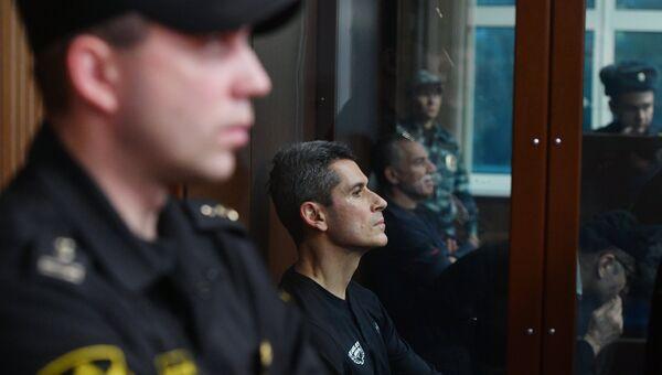 Бизнесмен Зиявудин Магомедов в суде. Архивное фото
