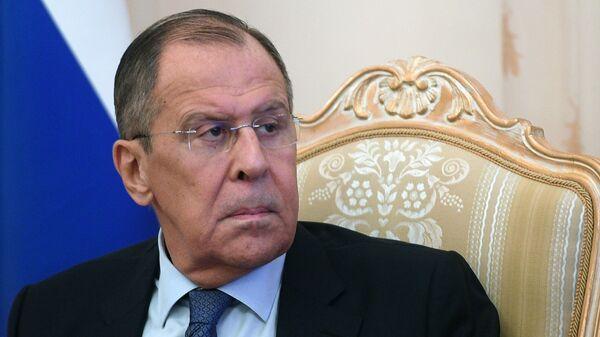 Глава МИД РФ Сергей Лавров. Архивное фото.